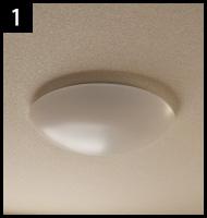シーリングライトを違う照明に取り替える 手順1