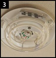 シーリングライトを違う照明に取り替える 手順3