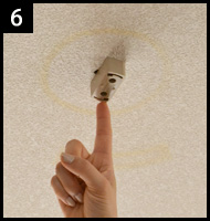 シーリングライトを違う照明に取り替える 手順6