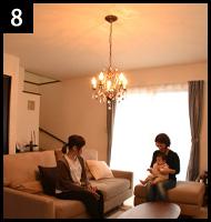 シーリングライトを違う照明に取り替える 手順8